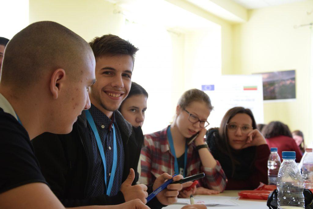 128 СУ посреща ученици и учители от 4 държави по Еразъм+